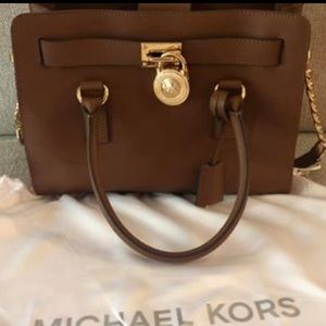 Authentic Michael Kors leather handbag